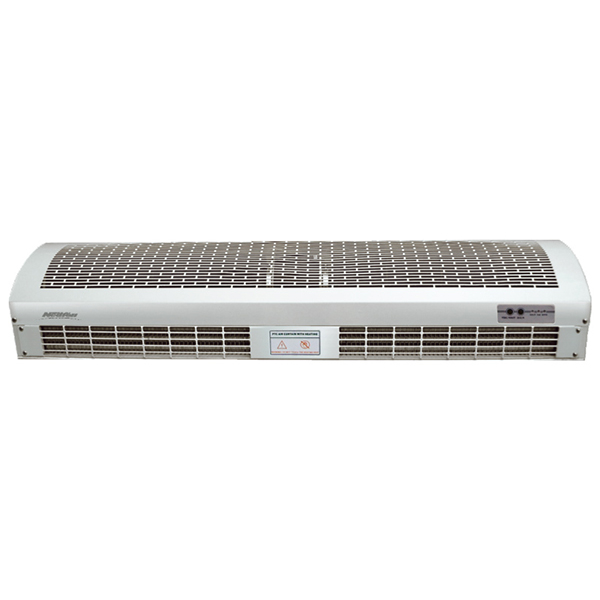 Heated Air Curtain For Restaurant, Horizontal Air Curtain, Wall Mounted Air Curtain